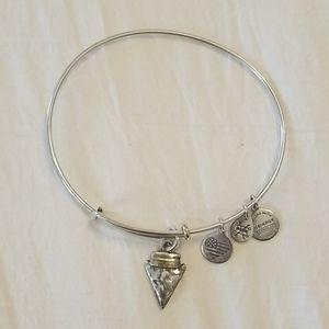 Alex and Ani arrowhead bracelet!